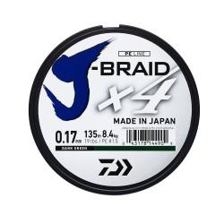 Valas DAIWA J-BRAID X4