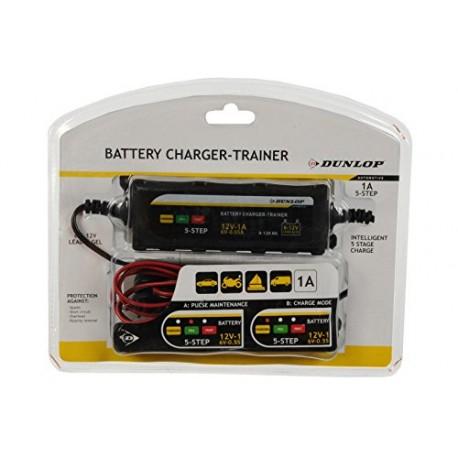 DUNLOP 6-12V baterijų kroviklis