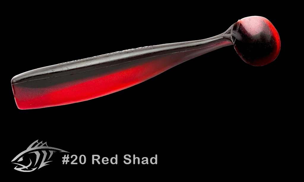20 Red Shad